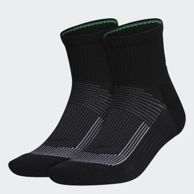Men's Cycling Black Superlite UB21 Quarter Socks 2 Pairs