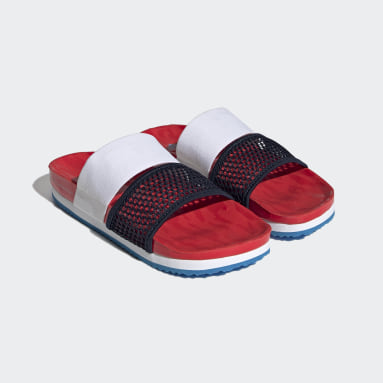 Women Sportswear Red adidas by Stella McCartney Lette Slides