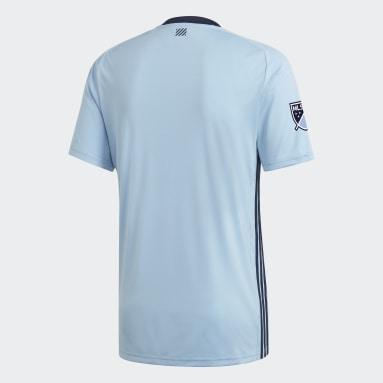 Maillot Sporting Kansas City Domicile Bleu Hommes Football