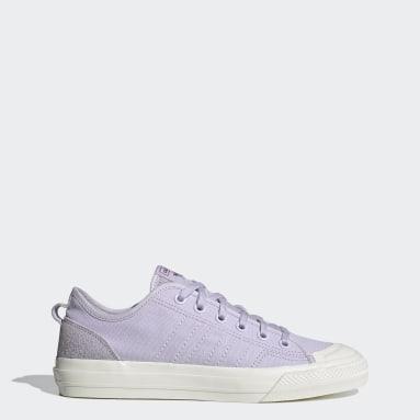Men Originals Purple Nizza Shoes