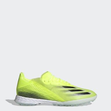 Calzado de Fútbol X Ghosted.1 Pasto Sintético Amarillo Hombre Fútbol