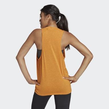 Women Sportswear Orange adidas Sportswear Winners 2.0 Tank Top