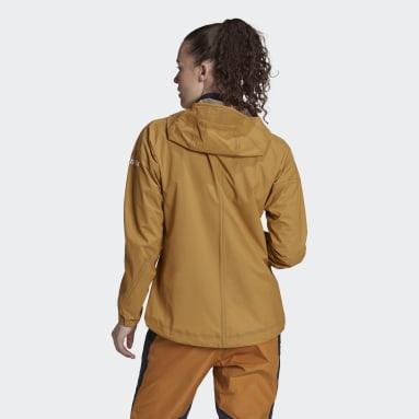 Women TERREX Brown Agravic 3L Jacket