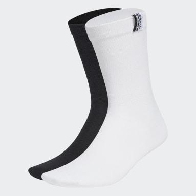Originals White R.Y.V. Ribbed Crew Socks 2 Pairs