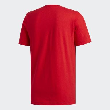 Men's Essentials Red Badge of Sport Tee