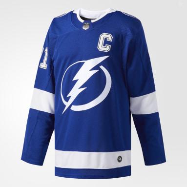 Hockey Blue LIGHTNING STAMKOS HOME AUTHENTIC PRO JERSEY