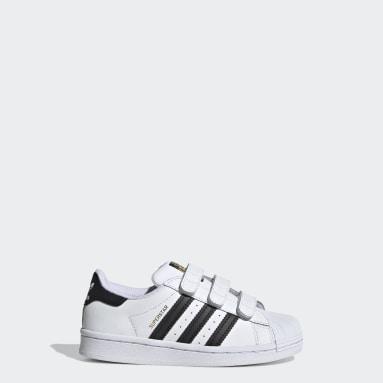 Kids Originals White Superstar Shoes