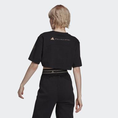 Camiseta corta adidas by Stella McCartney Future Playground Negro Mujer adidas by Stella McCartney