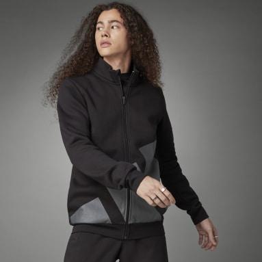 Heren Sportswear Zwart Logo Fleece Jack
