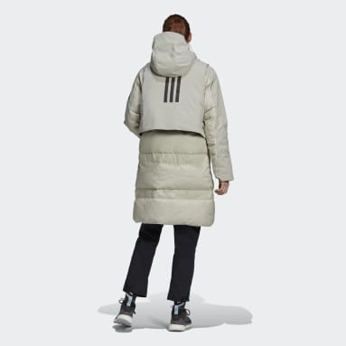 Parka MYSHELTER COLD.RDY Down Gris Mujer Outdoor Urbano