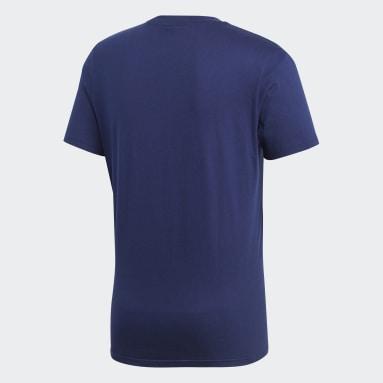 Men Gym & Training Blue Core 18 T-Shirt
