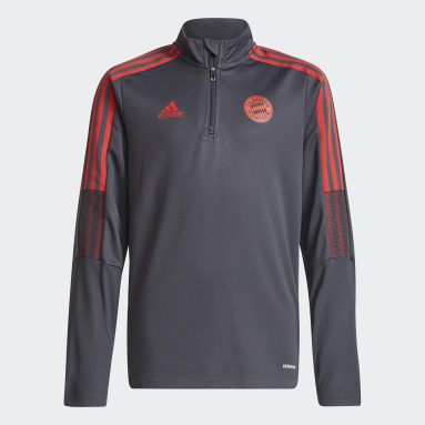 Børn Fodbold Grå FC Bayern Tiro Training trøje