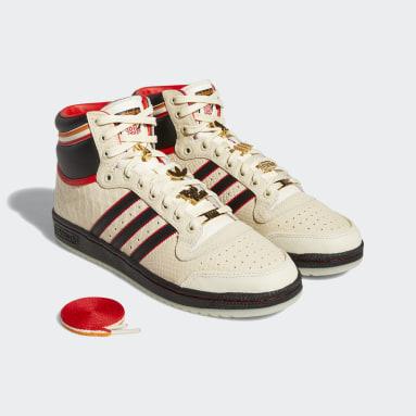 Originals White Top Ten Hi ESPN Shoes