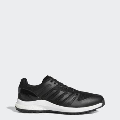 Golf Black EQT Primegreen Spikeless Wide Golf Shoes