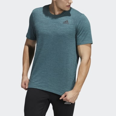 Men Gym & Training Green City Elevated T-Shirt