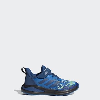 Children Running Blue adidas FortaRun x LEGO® NINJAGO® Jay Shoes
