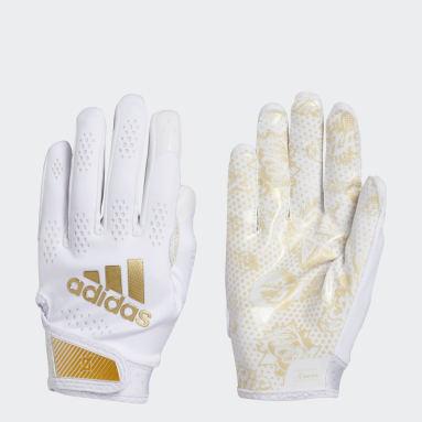 Men's Football White Adizero 11 Comics Gloves
