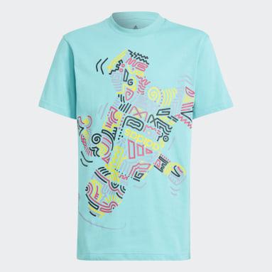 Kids Lifestyle Turquoise adidas x LEGO® Graphic Tee