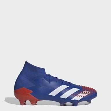 Football Blue Predator Mutator 20.1 Firm Ground Boots