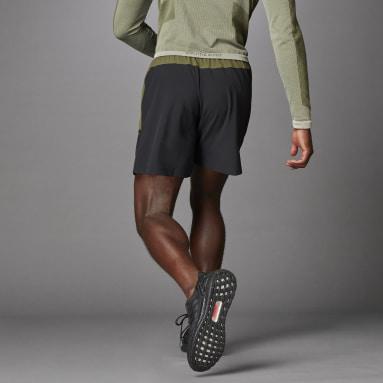 Men Running Green Studio Tech Shorts