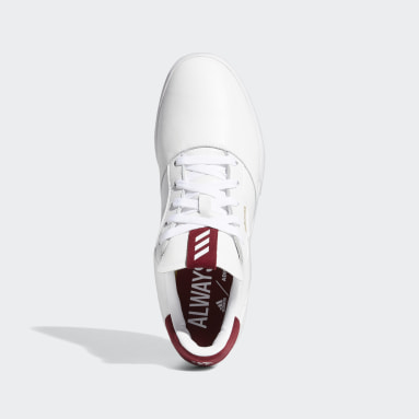 Chaussure de golf Adicross Retro Blanc Hommes Golf