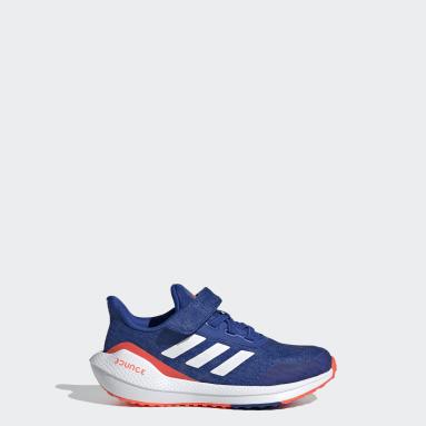 Kids Running Blue EQ21 Run Shoes