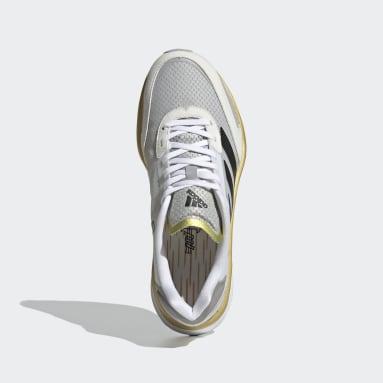 Dames Hardlopen Wit Adizero Boston 10 TME Schoenen