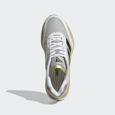Chaussure Adizero Boston 10 TME Blanc Femmes Running