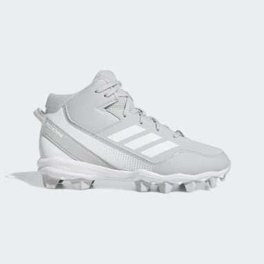 Children Baseball Grey Icon 7 Mid MD Cleats