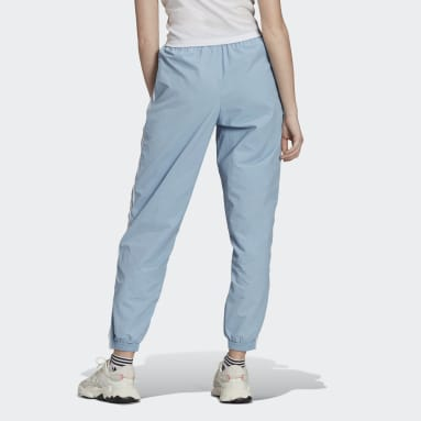 Calças Lock-up Adicolor Classics Azul Mulher Originals
