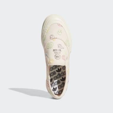 Originals Pink Nizza RF Slip Shoes