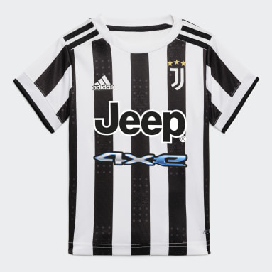 Divisa Baby Home 21/22 Juventus Bianco Bambini Calcio
