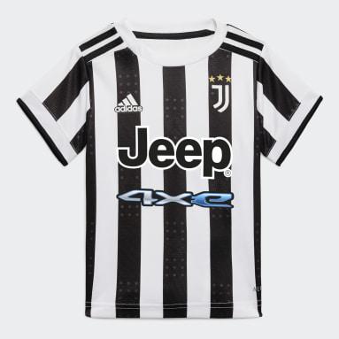 Børn Fodbold Hvid Juventus 21/22 Baby hjemmebanesæt