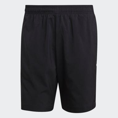 Shorts Essentials Linear Chelsea Preto Homem Estilo Esportivo