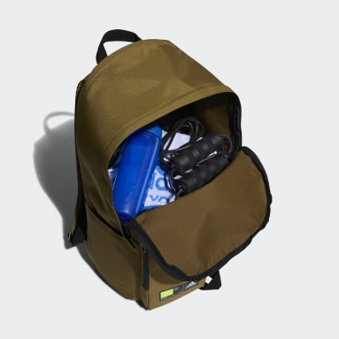Volleyball Brown Classics 3D Pockets Backpack