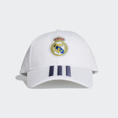 Gorra de Béisbol Real Madrid (UNISEX) Blanco Fútbol