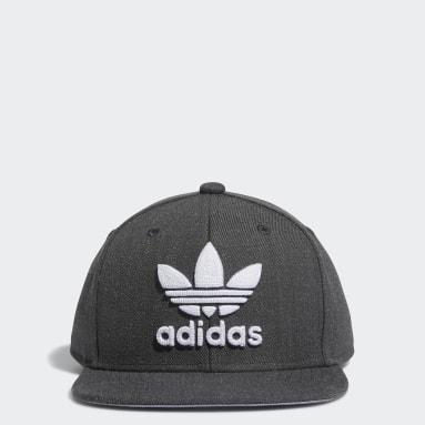 Children Originals Grey Trefoil Snapback Hat