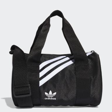 Women Originals Black Mini Nylon Duffel Bag