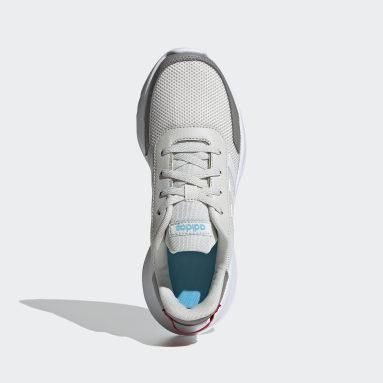 Kids Essentials Grey Tensor Run Shoes