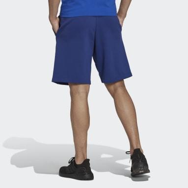 Men's Sportswear Blue adidas Sportswear Future Icons Logo Graphic Shorts