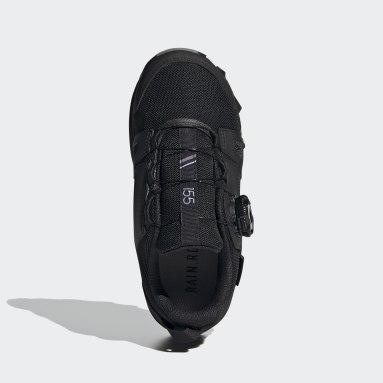 Terrex Agravic Boa RAIN.RDY Hiking Shoes Czerń