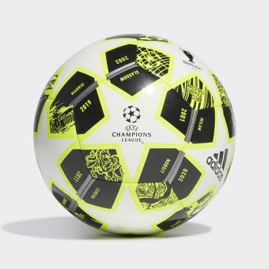 ผู้ชาย ฟุตบอล สีเหลือง ลูกฟุตบอล Finale 21 20th Anniversary UCL Club