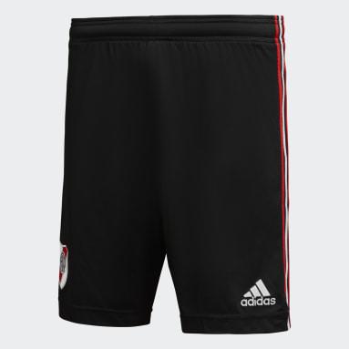 Shorts Uniforme Titular River Plate 21/22 Negro Hombre Fútbol