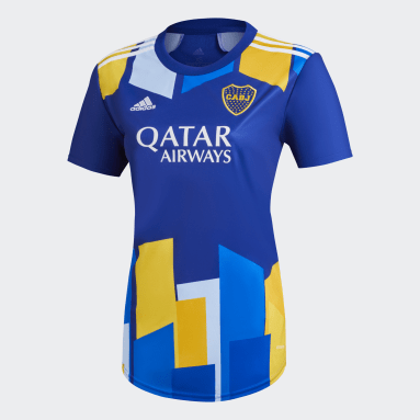 Camisa 3 Boca Juniors 20/21 Azul Mulher Futebol