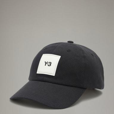 Y-3 Black Y-3 Square Label Cap