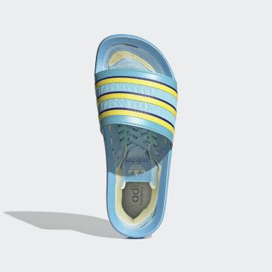 Women Originals Turquoise Adilette Premium Slides