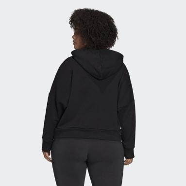 Sweat-shirt à capuche adidas Sportswear Future Icons (Grandes tailles) noir Femmes Sportswear