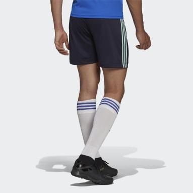 Fotbal modrá Venkovní šortky Ajax Amsterdam 21/22