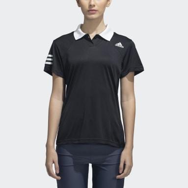 Women Tennis Black CLUB POLO