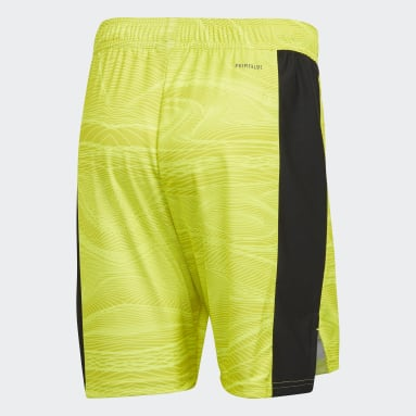 Voetbal Geel Manchester United 21/22 Keepersshort Thuis